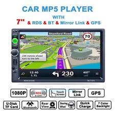 Autoradio Mit europäischen Landkarte GPS Navigation 7'' 2 Din +Rückfahrkamera