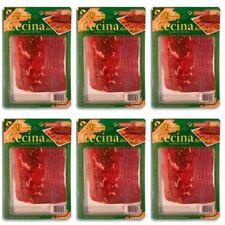 6 X 100 gr Cecina de Leon - Rinderschinken aus SPANIEN