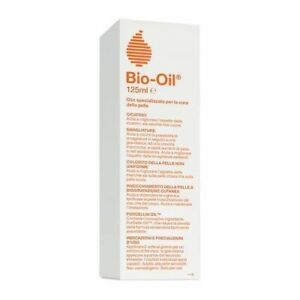 bio-oil smagliature e cicatrici da 125 ml , olio dermatologico , olio completo