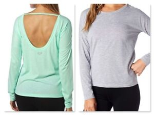 Fox Racing Women's Backtracked Tech Long Sleeve T-Shirt *Various Colors and Size