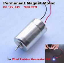 Epson Mini Wind Turbine Generator 12V-24V DC Large Torque Permanent Magnet Motor
