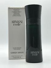 New*Test*Box - Armani Code Giorgio Armani Men Cologne 2.5 Oz 75 Ml As Shown
