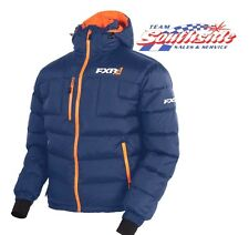 FXR ELEVATION DOWN SNOWMOBILE JACKET BLUE SIZE LARGE 170030-4530-13