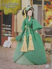 Annie's Attic Southern Belle Fashion Bed Doll Crochet Pattern Dress from Drapes