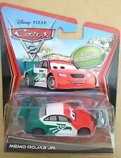 Disney Pixar Cars MEMO ROJAS JR MEXICAN SUPER CHASE Nuovo in Blister. Ottimo