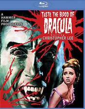 Taste the Blood of Dracula Blu-ray with Christopher Lee, Like New