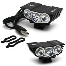 10000LM SolarStorm 3x T6 LED Bicycle Lamp Bike Light Headlight Cycling Torch AT