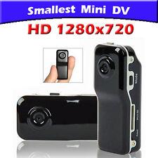 Mini Telecamera Nascosta HD 1280x720  Spy Camera Batteria Litio + SD Card 32GB