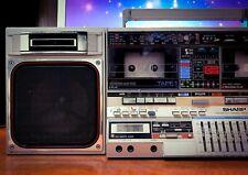 SHARP GF-800Z (1982) Vintage Gheto-Blaster Stereo Cassette Boombox 🔥RARE🔥