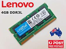 4GB DDR3L for Lenovo IdeaPad ThinkPad Yoga B40 B50 G50 Z50 comp. Part 11202706