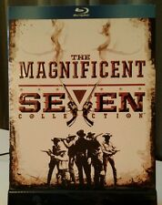 Magnificent Seven 4-Pack (Blu-ray Disc, 2010, 4-Disc Set) Like NEW - Free S&H