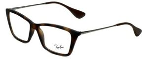 Ray-Ban Womens Reading Glasses Shirley RB7022 5365 in Rubber-Havana 54-14-140