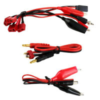 Connector Cable Set T Plug to Banana Wire for IMAX B6 B6AC Battery Charger
