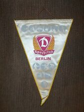 BIG SIZE 1980's DYNAMO Berlin VOLLEYBALL OFFICIAL Pennant Streamer DDR GERMANY