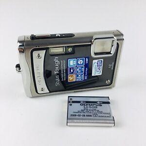 Olympus Stylus Tough 8000 12.0MP Digital Camera - Black