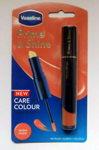 "Vaseline Prime & Shine Care And Colour Dual Benefit ""Warm Nude""  Free Delivery"