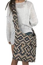 Oversize Large Woven Shoulder Bag Hobo Sling Slouch Crossbody Grocery School