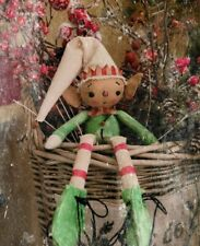 Primitive Elf Christmas Doll