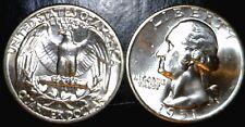 1951d CH BU Washington Quarter LUSTROUS Silver 1951 d Coin   NO RESERVE