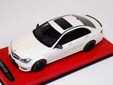 1/18 GT Spirit Mercedes Benz C63 (W204) AMG Sedan White Lim 500 Leather GT166