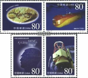 People's Republic of China Mi.-number.: 3089-3092 Couples (complete issue) FDC 1