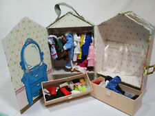 Vintage Madeline Carrying Case With Doll Clothes No Dolls