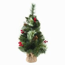 Mixed Cone And Berries Christmas Tree 2ft (60cm)
