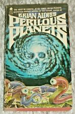 Brian Aldiss, PERILOUS PLANETS, Vintage 1980 Science Fiction Paperback Anthology