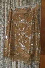 Nylon Floral Above Knee Regular Size Skirts for Women