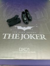 Genuine Hot Toys 1/6 DX01 Batman TDK Joker Heath Ledger Cop uniform Shoes socks