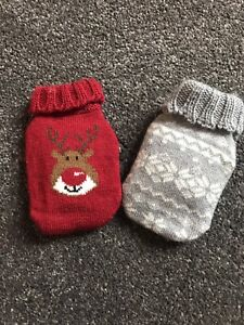 2 reusable Christmas hand warmers Used But Only On A Couple If Times