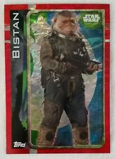 Topps UK Star Wars Rogue One Holographic Foil card Bistan 173