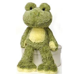 Fiesta Toys Fuzzy Folk Sitting Ivy Bean Bag Frog 16'' Inches My Plush Pet Pillow