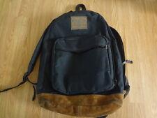 Arizona Leather Bottom Backpack Black