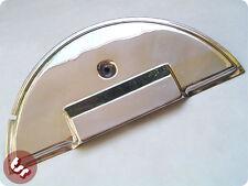 Vespa px/t5/lml 1/2 Luna Acero Inoxidable rueda de repuesto cubierta + Perno de fijación