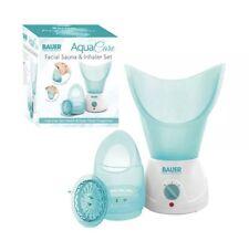 Aqua CURA DEL VISO SAUNA INALATORE VAPORE & Set Faccia congestione nasale cura della pelle