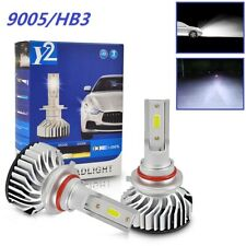 Bevinsee 9005 HB3 LED Headlight Conversion Kit 6500K White Car Light Bulb 6000LM