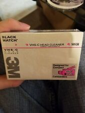 vhs-c black watch 3m, get two!