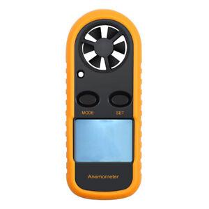 Wind Meter Handheld Digital Anemometers Air Flow Meter Thermometer