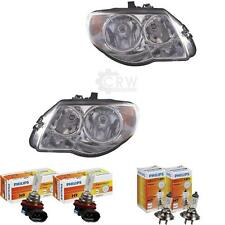 Set Faros Chrysler Voyager IV Rg con Motor Incl. Philips 42P