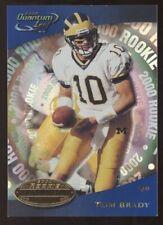 2000 Quantum Leaf #343 Tom Brady Patriots Bucs RC Rookie