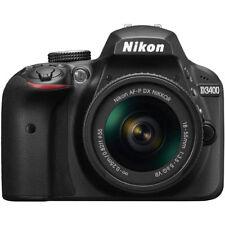 Nikon D3400 24.2 MP DSLR Camera w/ AF-P DX 18-55mm VR Lens Kit