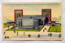 Time And Fortune Building At Century Of Progress WORLD'S FAIR 1934
