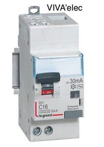 Disjoncteur Différentiel LEGRAND 16A Type AC 30mA NEUF.