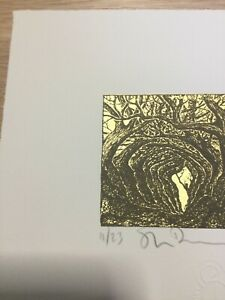 Stanley Donwood Fosse HollowLtd edition print signed and numbered xx/23 with COA