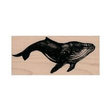 NEW Humpback Whale RUBBER STAMP, Whale Stamp, Ocean Stamp, Sea Life Stamp