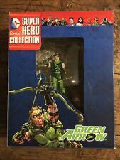 DC COMICS SUPER HERO COLLECTION ... GREEN ARROW ... EAGLEMOSS FIGURINE