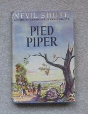 Pied Piper, by Nevil Shute (1942, HCDJ), Published by Book League of America