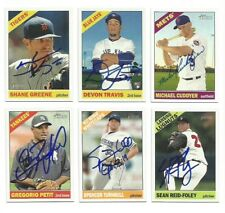 SEAN REID-FOLEY Signed/Autographed 2015 TOPPS HERITAGE MINORS CARD Blue Jays #10