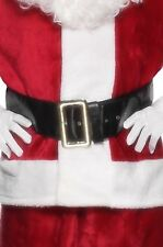 Mens Santa Claus Belt Father Christmas Fancy Dress Costume Outfit Accessory